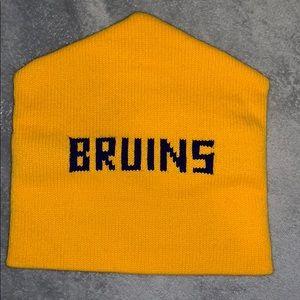Other - Boston Bruins yellow beanie hat